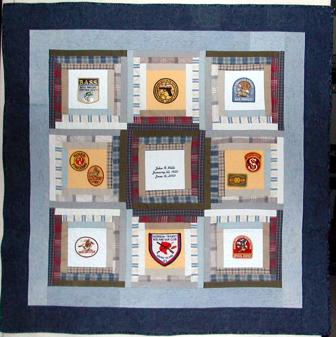 Memorial Quilts : quilts made with photos - Adamdwight.com