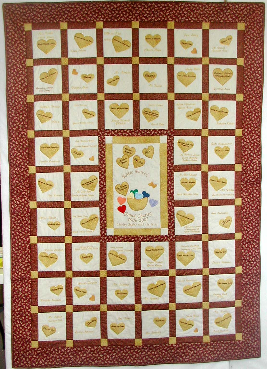 Memory Quilts : graduation quilt ideas - Adamdwight.com