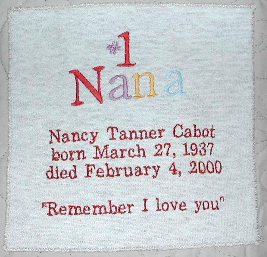 Memorial Quilts : memorial quilt quotes - Adamdwight.com